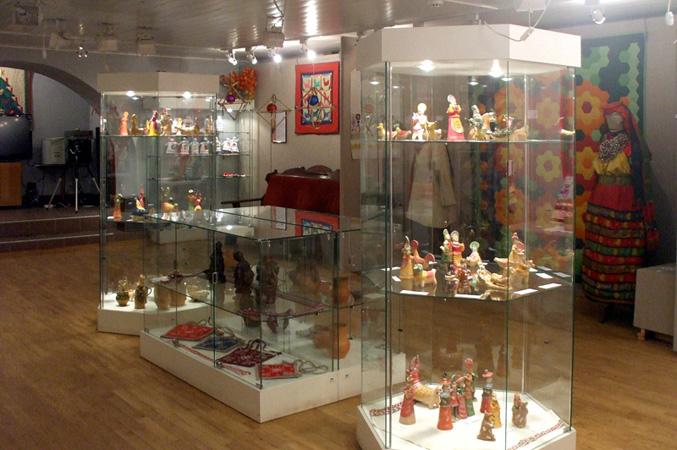 Романовская глиняная игрушка